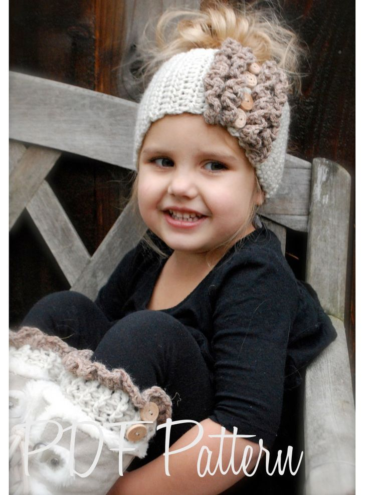 Crochet PATTERN-The Rainya Boot cuff/Warmer Set (Toddler, Child, and Adult sizes)