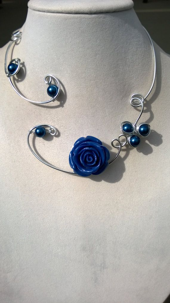 ROYAL BLUE FOR HOLIDAY *** ROYAL BLUE CHRISTMAS GIFTS by BIJOUX LIBELLULE on Etsy
