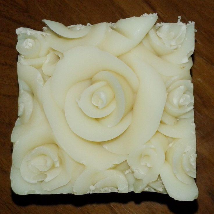 Plain Milk Soap (Limited Edition Rose Design)