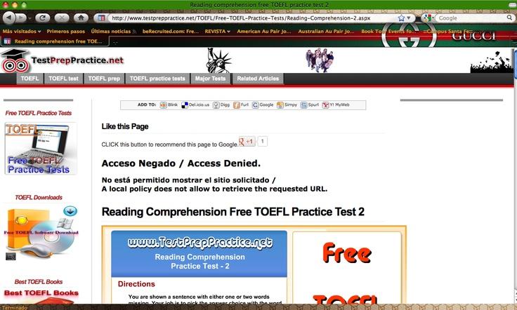 http://www.TestPrepPractice.net/TOEFL/Free-TOEFL-Practice-Tests/Reading-Comprehension-2.aspx