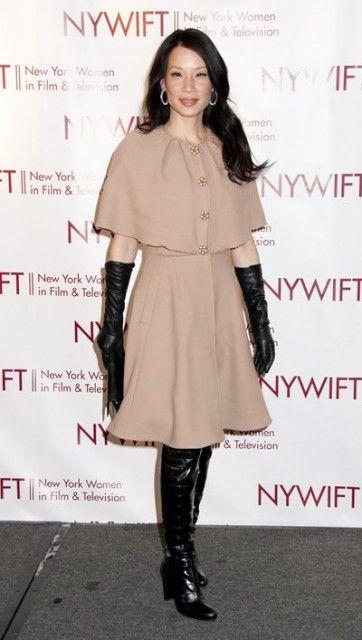 アジアンな見た目でハリウッドで活躍♡ 女優ルーシー・リュー