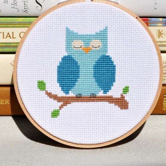 owl crossstitch