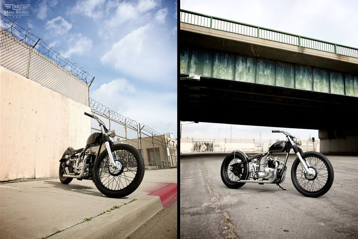 THE FACTORY METAL WORKS Custom Triumph T100