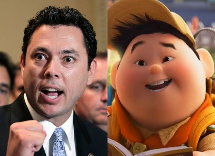 Politicians Who Look Like Disney Characters - Jason Chaffetz (R-Utah) #PoliticiansLookLikeDisneyCharacters #JasonChaffetz #OccupyOccuPIE