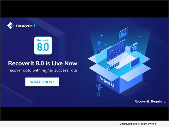 Wondershare Recoverit 8 0 New Product Release With Advanced