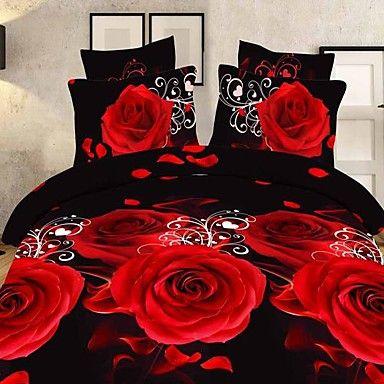 Dekbedovertrek Sets - Polyester - Full-size (200 x 230cm) – EUR € 37.99