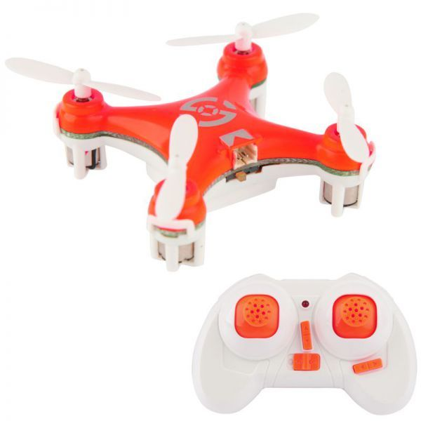 Mini quadricoptère drone hélicoptère miniature jeu radiocommandé orange   #drone #avion #helices