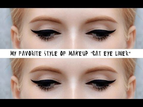 You know this is a great Look & one of my favorite...but when you do this Look , I think it needs a purpose...special occasion...great for Clubbing...you know...Here's how to do the perfect Cat eye! Have some fun!~Kimberly Robyn