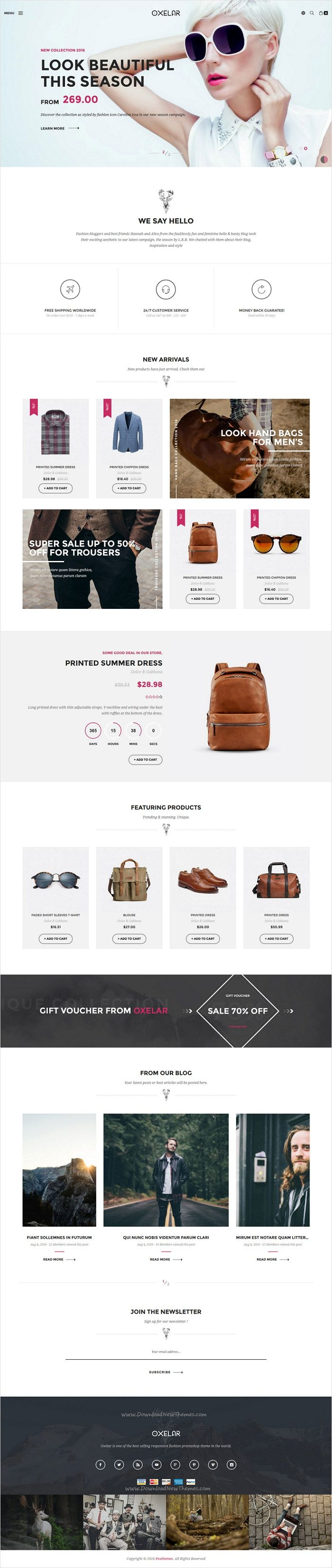 Oxelar is beautiful and stylish #Prestashop theme for stunning #eCommerce #website with 6 multipurpose homepage layouts download now➩ https://themeforest.net/item/oxelar-new-theme-for-prestashop-with-new-styles/17728311?ref=Datasata