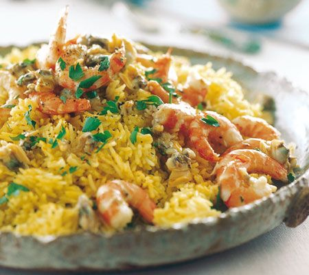 I would love some Paella right now! :)