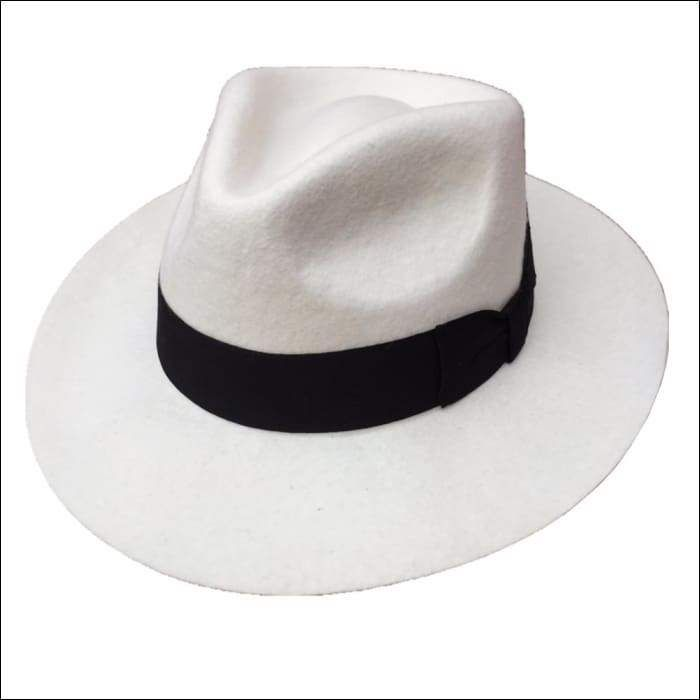 acd381a67 The Original Godfather Pure White Wool Fedora Hat in 2019 | the ...