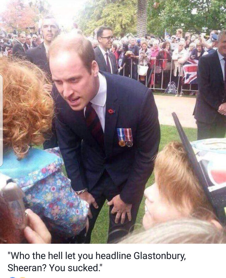 Any ginger reminds William that Harry is James Hewitts love child