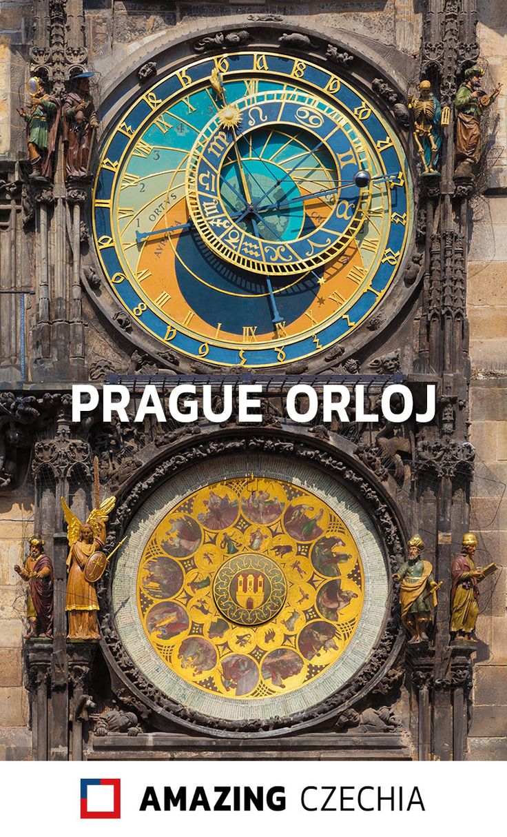 The Prague Astronomical Clock, commonly known as the Orloj, is one of the most popular sights in the Czech capital. It is very easy to find, because it is mounted on the Old Town Hall in the magnificent Old Town Square (Staroměstské náměstí). At full hours between 9 AM and 9 PM, you will see there crowds of tourists watching the parade of 12 wooden apostle statues appearing in two windows.