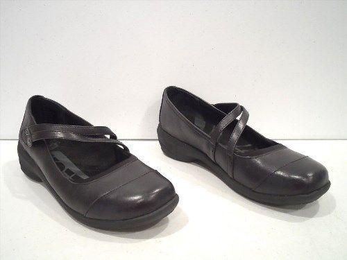 8.90$  Buy now - http://vifni.justgood.pw/vig/item.php?t=hhykmda56786 - Abeo Women's Mary Jane Shoes Size 9.5 Black Slip On Strap SMARTsystem 3595 8.90$