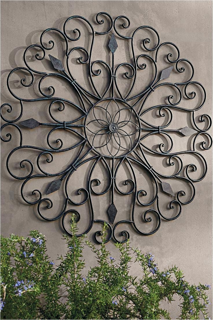 20 Best Ideas Outdoor Wrought Iron Wall Art Good 45 Garden Wall Art Ideas Vu57083 Frontgardenwallquo In 2020 Outdoor Metal Wall Art Outside Wall Decor Iron Wall Art