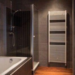 батарея полотенцесушитель ванной Sani Ronda Артикул: SROW0.063040.001/18 Сочетание строгого дизайна.