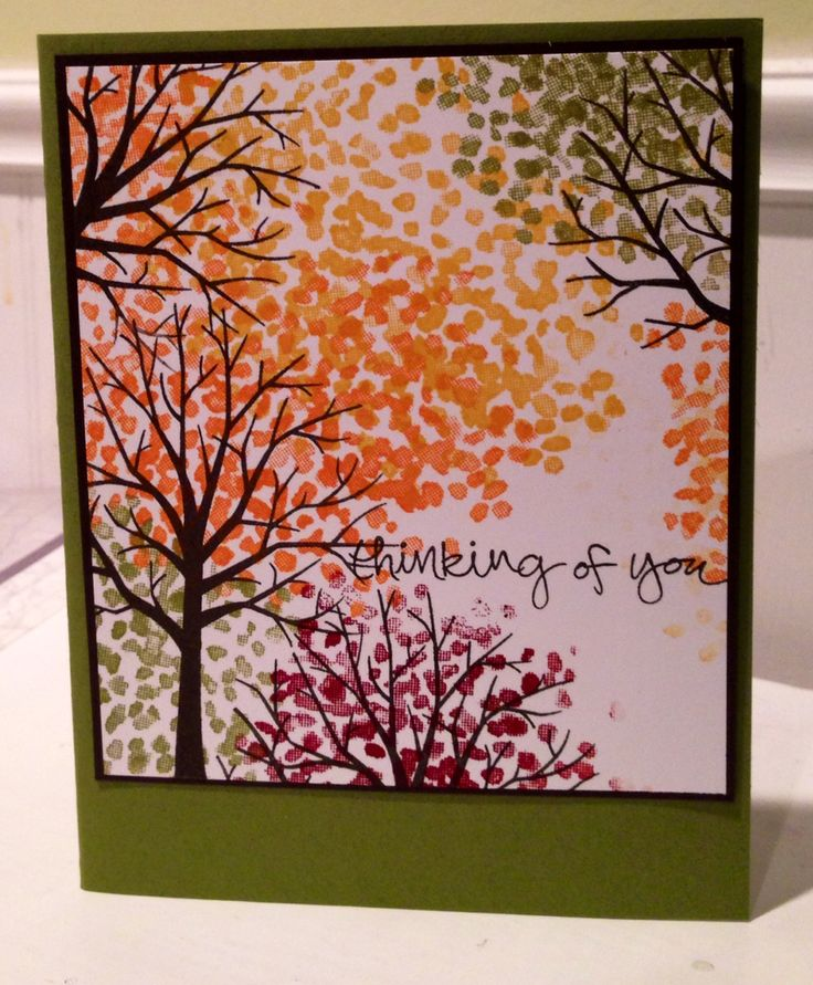 Created by Trevis.  Stamp Set:  The Sheltering Tree by Stampin' Up!