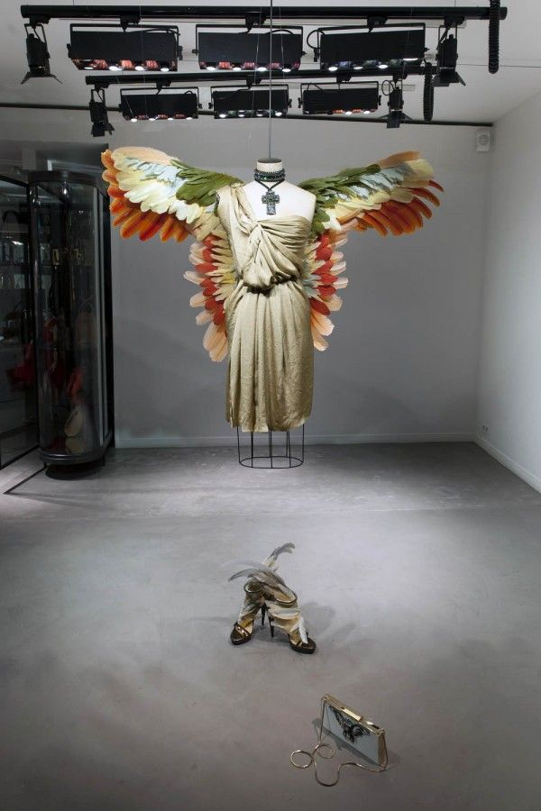 Lanvin Birds of Paradise Windows