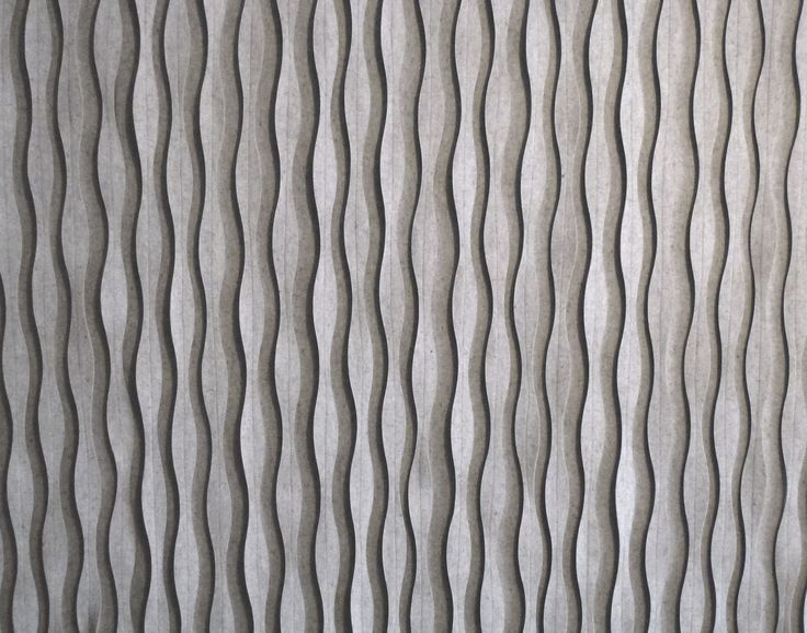 Wool Felt Decorative Acoustical Panels Pleat By Anne Kyyr 246