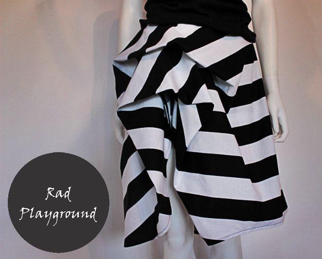 Rose stripes skirt - from rad playground