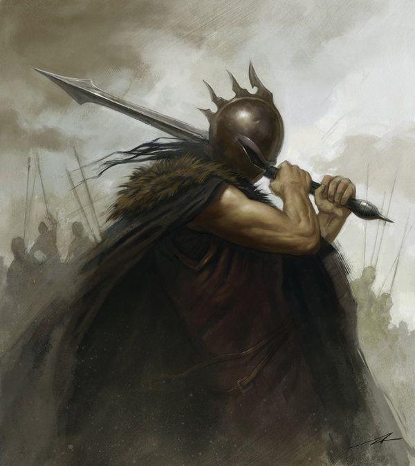 The Warrior by alanlathwell.deviantart.com on @deviantART