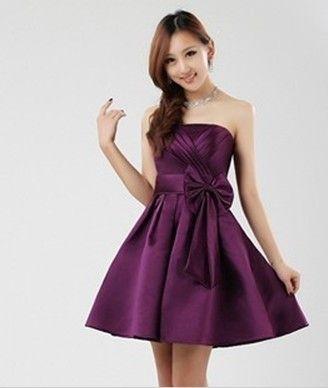 vestido estilo princesa cortos Gran diseño de arco corto