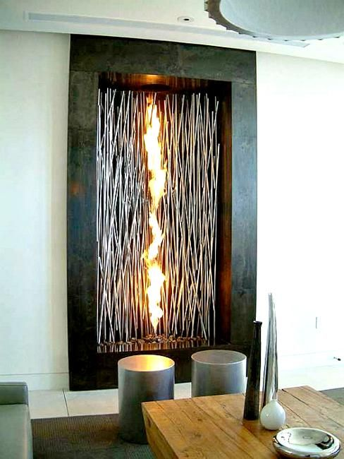 22 Unique Modern Fireplaces Which Do Double Duty Creating