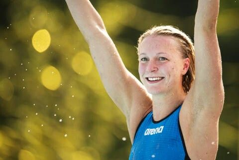 Sara Sjöström, Swedish athlete took world record and won two gold medals in European Swimming Championship in Berlin 2014