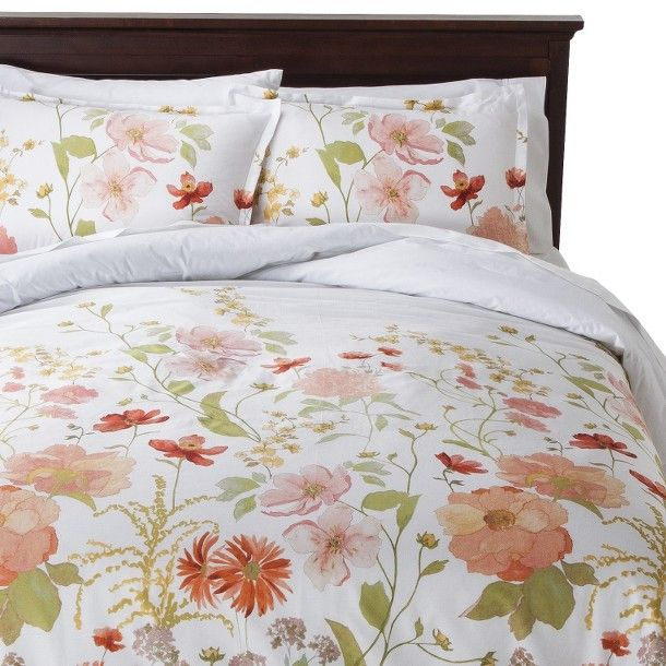 Threshold™ Multi Floral Comforter Set - Beautiful pattern