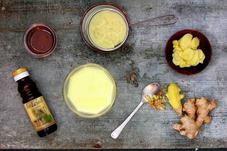 Ingwermilch (vegan) – schnelle Hilfe bei Erkältung