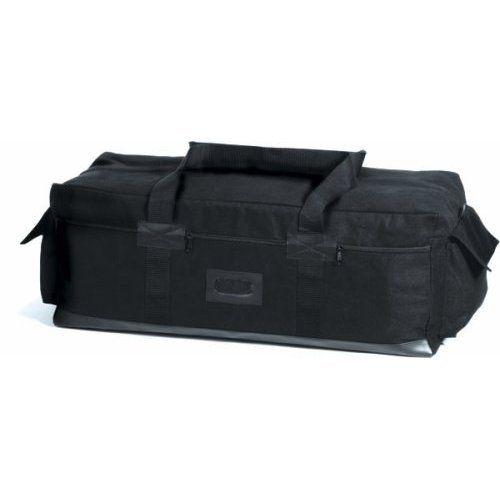 Details at http://youzones.com/black-israeli-canvas-tactical-duffle-bag/