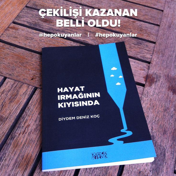 """Diydem Deniz KOÇ'un """"Hayat Irmağının Kıyısında"""" adlı kitabı 1 takipçimize hediye. Hem de yazarından imzalı olarak :)  #HepOkuyanlar #Kitap #Edebiyat #Like #Instagram #Books #Takip #Kitaplar #Çekiliş #HediyeKitap #İmzalıKitap #Okumak #KitapTavsiye #Öneri #Love #Aşk"""