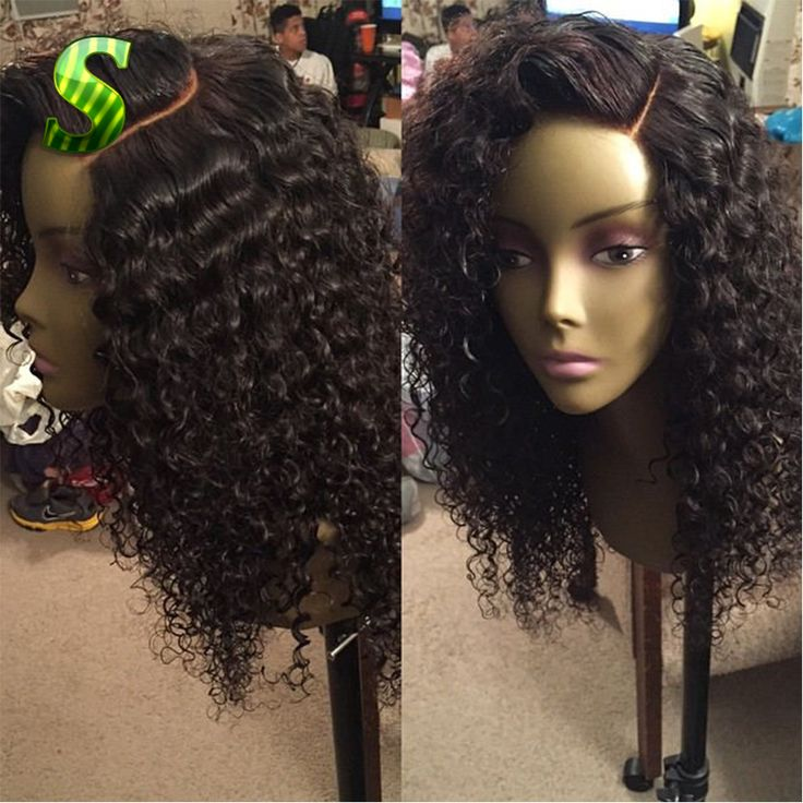 100 Human Hair Wigs For african american Peruvian Human Hair Curly Lace Front Wig Glueless Full Lace Human Hair Wigs Black Women