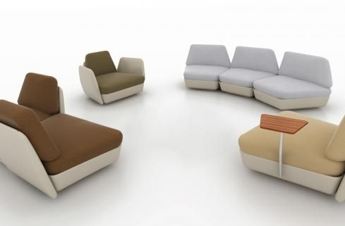 SPOCK outdoor seating system