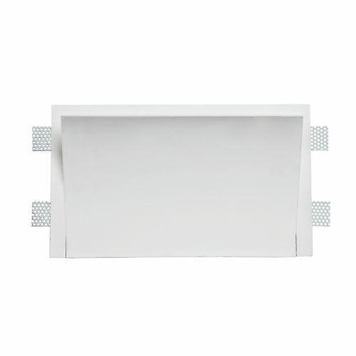 Leroy Merlin - Applique da incasso fisso Perugia bianco Illuminazione da incasso per soffitto e parete