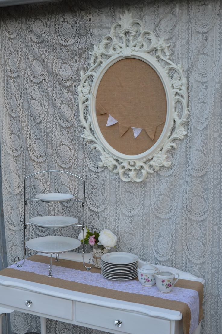 VINTAGE LACE - Sweets Table