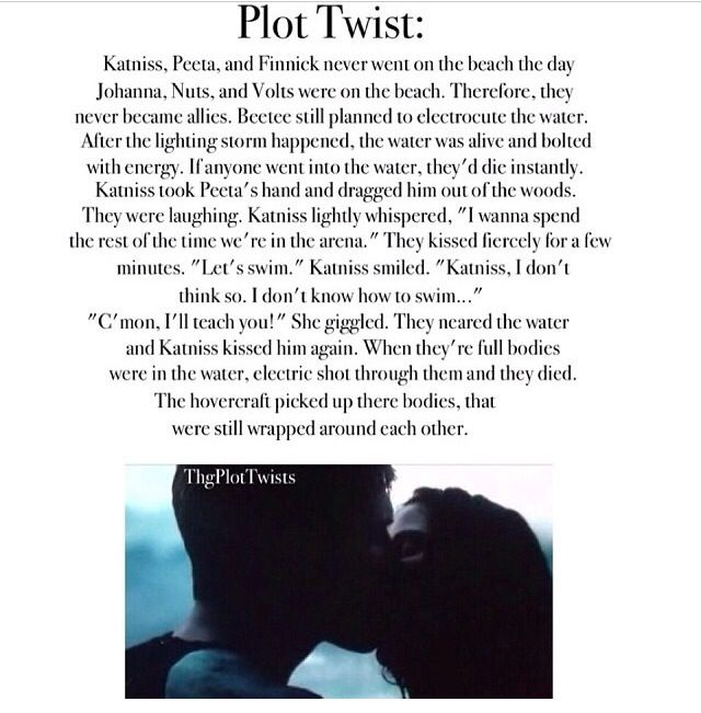 plot twist So, scroll down below to see the shocking plot twists that occurred when people least expected them and, oh, don't forget to comment and vote for your favorites.