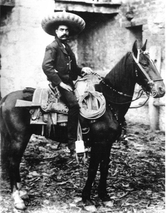 Zapata no murió en Chinameca aún cabalga por las montañas del sur en su caballo blanco. Alerta Guerrillas!!!