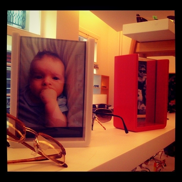 acrylic frame; one side mirror the other is for your pictures   designed by labistanbul