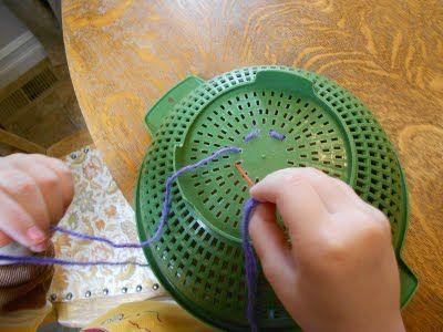 Colander Sewing Practice
