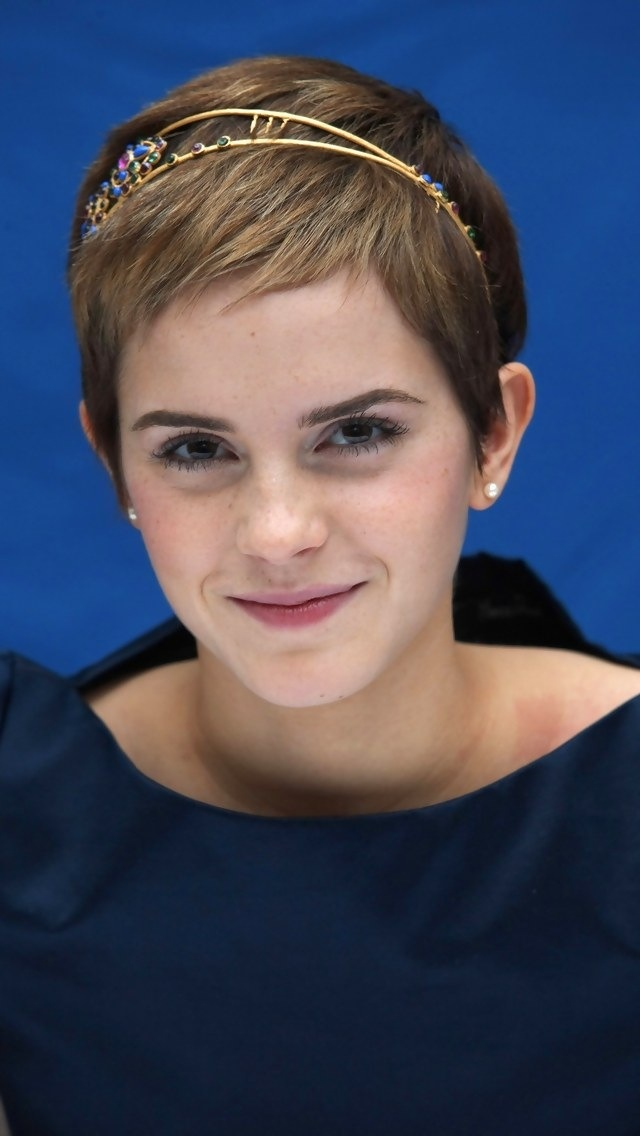 Image result for emma watson short hair