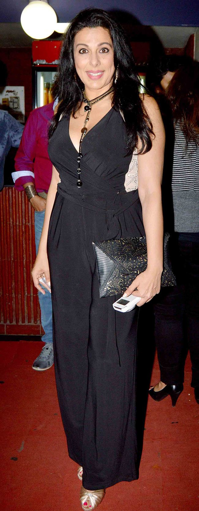 Pooja Bedi at the screening of 'Kill Dil'. #Bollywood #Fashion #Style #Beauty #Page3