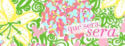 Free Facebook Cover from College Prep:  Lilly Pulitzer Que Sera, Sera.