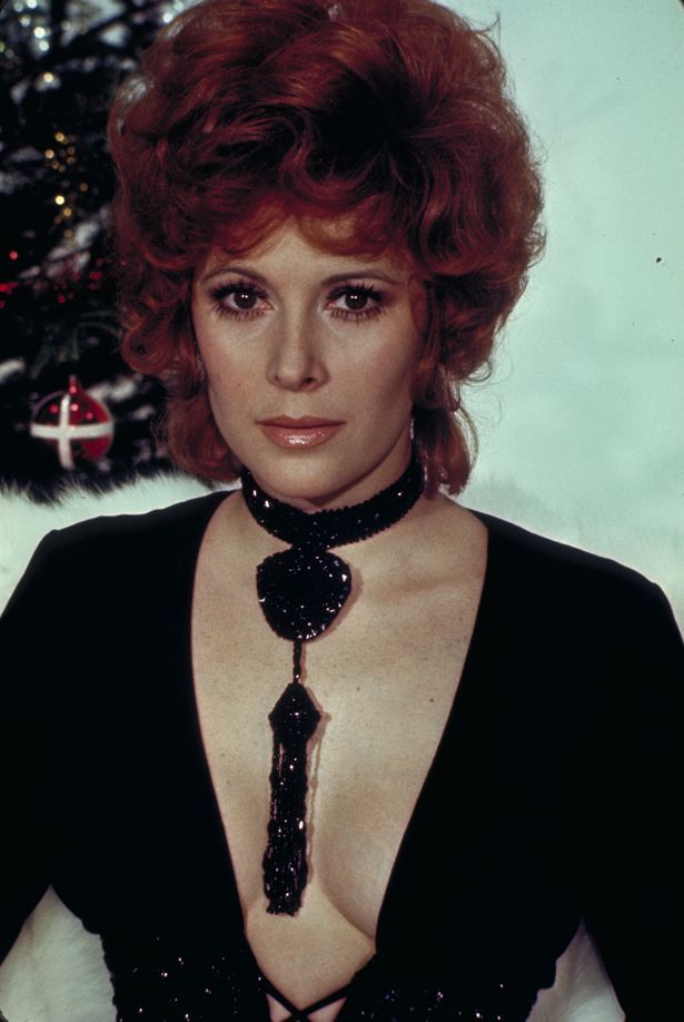 "Jill St. John from the James Bond 1971 film, ""Diamonds Are Forever."""