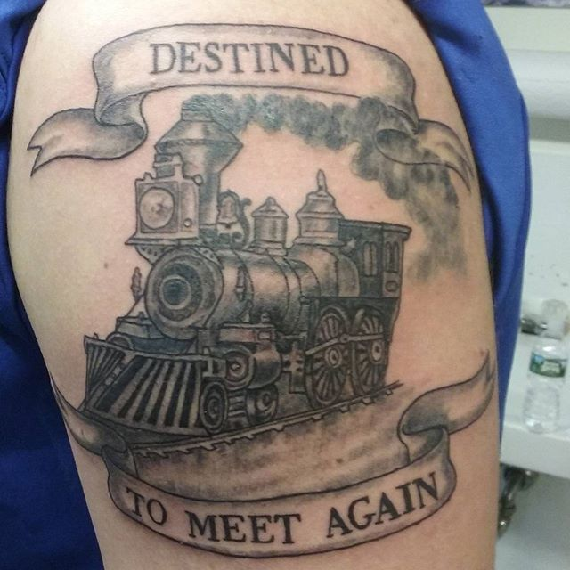 train tattoo                                                       …