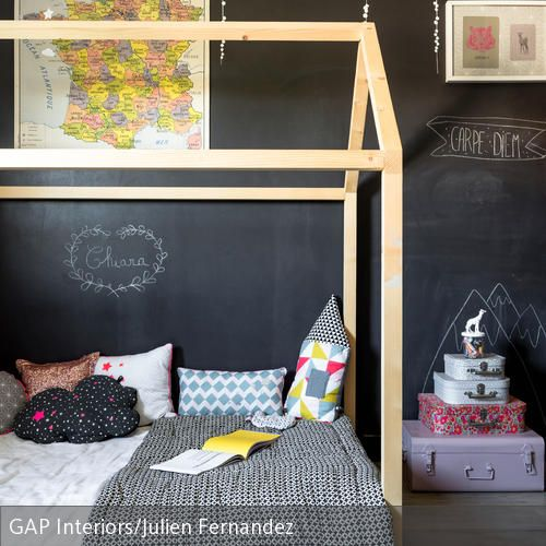 Wandtafel Im Kinderzimmer
