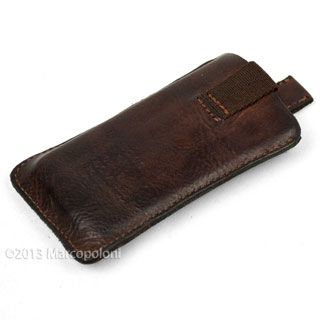 TINO Leather iPhone Case by Campomaggi | Marcopoloni