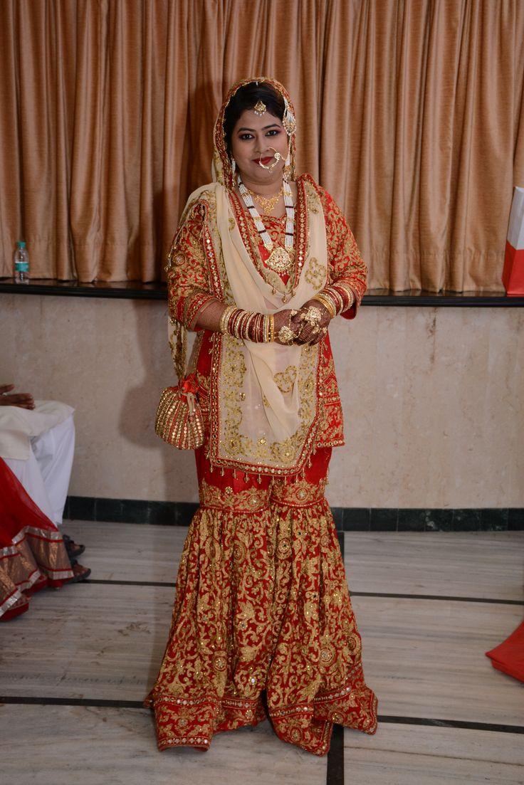 #bridal #garara #muslimBride #bride #indian #wedding #desi #weddingscenes #dy=upatta #nizami #jewellery