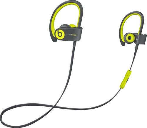 Beats by Dr. Dre - Powerbeats2 Wireless Earbud Headphones - Yellow