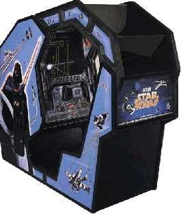 """Star Wars Arcade Machine - felt like being in the cockpit of an X-wing fighter!  First """"sit-down"""" video game I remember that wasn't a racing style game."""